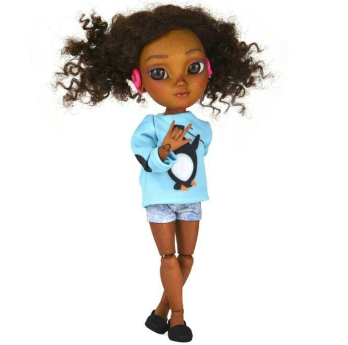 Как сделать куклу негритянку 4
