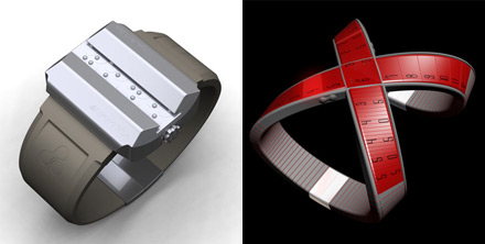 Часы «Haptica» и «X-Watch»