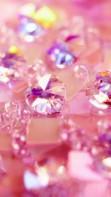 Картинки розовое, сердце, кристалл бесплатно на рабочий стол.  1280x1024