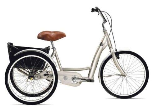 Трехколесный велосипед можно